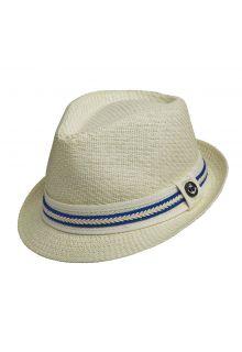 Tropical-Trends---Fedora-hoed-voor-dames---Kobalt-blauw