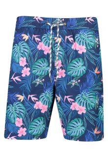 Snapper-Rock---UV-Boardshorts-voor-heren---Rain-Forest---Blauw