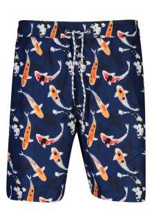 Snapper-Rock---UV-Boardshorts-voor-heren---Don't-be-Koy---Navyblauw