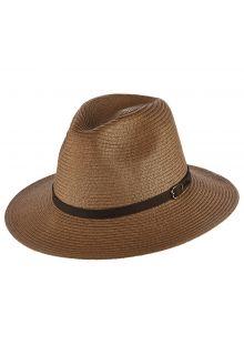 Dorfman-Pacific---Safari-gevlochten-hoed-voor-heren---Kaki