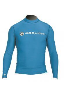 Prolimit---Zwemshirt-voor-heren-met-lange-mouwen---Blauw