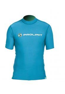Prolimit---Zwemshirt-voor-heren-met-korte-mouwen---Blauw