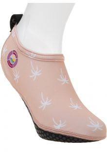 Duukies---Dames-UV-strandsokken---Ladies-Palm-Pink---Roze
