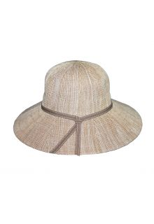 Rigon---UV-flaphoed-voor-dames---Suzi---Gemengd-kameelgeel