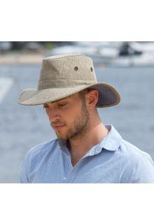 Rigon---UV-safarihoed-voor-heren---Steengrijs-/-beige