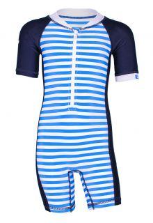 JUJA---UV-Zwempak-voor-baby's---korte-mouwen---Captain---Blauw