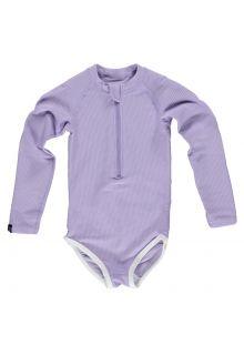Beach-&-Bandits---UV-Badpak-voor-meisjes---Ribbed---Lavendel