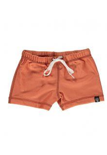 Beach-&-Bandits---UV-Zwemshorts-voor-kinderen---Ribbed---Klei