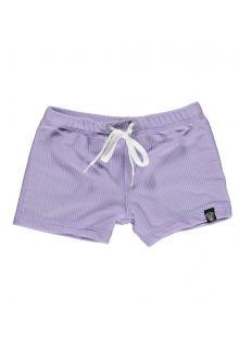 Beach-&-Bandits---UV-Zwemshorts-voor-kinderen---Ribbed---Lavendel