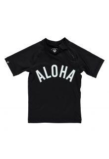 Beach-&-Bandits---UV-shirt-voor-kinderen---Aloha-Tee---zwart