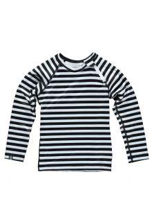 Beach-&-Bandits---UV-shirt-voor-kinderen---Stripe-tee---zwart-wit