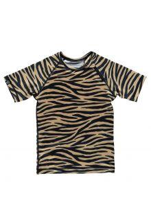 Beach-&-Bandits---UV-Zwemshirt-voor-kinderen---Tiger-Shark---Bruin