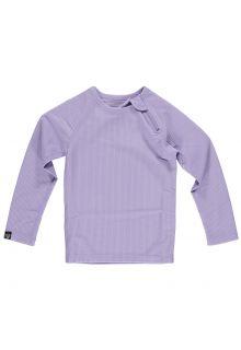 Beach-&-Bandits---UV-Zwemshirt-voor-kinderen---Ribbed-Longsleeve---Lavendel