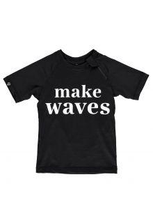 Beach-&-Bandits---UV-Zwemshirt-voor-kinderen---Make-Waves---Zwart