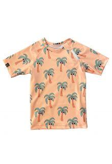 Beach-&-Bandits---UV-Zwemshirt-voor-kinderen---Palm-Breeze---Sunny-Cream