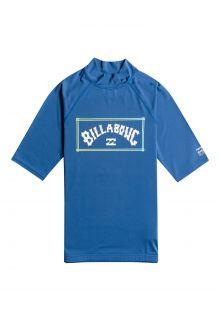 Billabong---UV-Zwemshirt-voor-heren---Korte-mouw---Unity---Donkerblauw