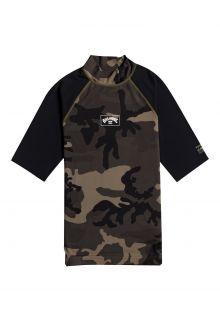 Billabong---UV-Zwemshirt-voor-heren---Korte-mouw---Contrast---Camouflage