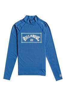 Billabong---UV-Zwemshirt-voor-heren---Longsleeve---Unity---Donkerblauw