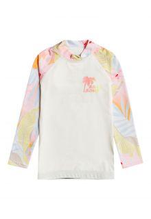 Billabong---UV-Zwemshirt-voor-meisjes---Longsleeve---Billie-Logo---Zoutkristal