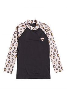 Billabong---UV-Zwemshirt-voor-meisjes---Longsleeve---Billie-Logo---Off-Black