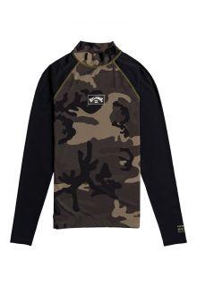 Billabong---UV-Zwemshirt-voor-heren---Longsleeve---Contrast---Camouflage