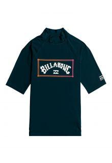 Billabong---UV-Zwemshirt-voor-heren---Korte-mouw---Unity---Marineblauw
