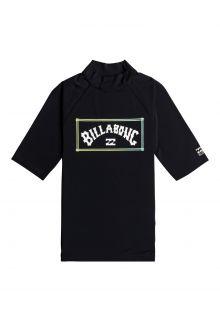 Billabong---UV-Zwemshirt-voor-heren---Korte-mouw---Unity---Zwart
