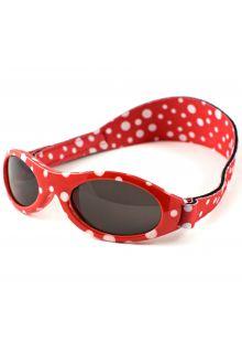 Banz---UV-beschermende-zonnebril-voor-kinderen---Bubzee---Rood-gestipt