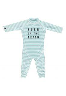 Beach-&-Bandits---UV-zwempak-voor-baby's---Beach-Boy---Lichtblauw/Wit