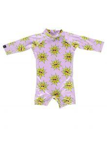 Beach-&-Bandits---UV-zwempak-voor-baby's---Sunny-Flower---Roze