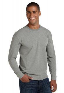 Coolibar---UV-longsleeve-shirt-heren---grijs-gemeleerd