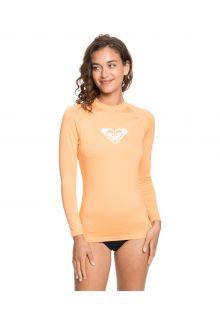 Roxy---UV-Zwemshirt-voor-dames---Longsleeve---Whole-Hearted---Zalm