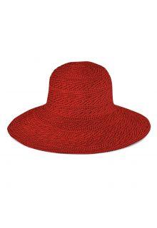 Emthunzini-Hats---UV-Floppy-zonnehoed-voor-dames---Scrunchie---Rood