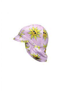 Beach-&-Bandits---UV-zonnehoedje-voor-baby's---Sunny-Flower---Roze