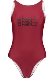 O'Neill---Performance-badpak-voor-dames---Logo---Nairobi-Rood