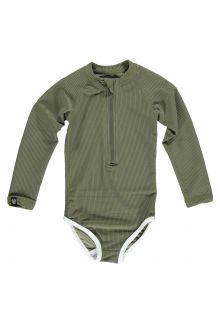 Beach-&-Bandits---UV-zwempak-voor-meisjes---Ribbed-Collectie---Palm