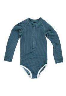 Beach-&-Bandits---UV-zwempak-voor-meisjes---Ribbed-Collectie---Oceaan