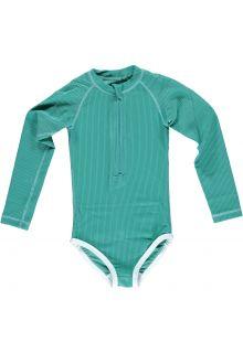 Beach-&-Bandits---UV-zwempak-voor-meisjes---Ribbed-Collectie---Lagune