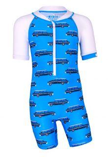 JUJA---UV-Zwempak-voor-baby's---korte-mouwen---Oldtimer---Lichtblauw