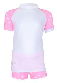 JUJA---UV-Zwemset-voor-meisjes---Stars---Wit/Roze