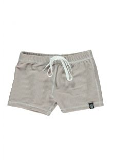 Beach-&-Bandits---UV-zwemshorts-voor-kinderen---Ribbed-Collectie---Zand