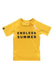 Beach-&-Bandits---UV-zwemshirt-voor-kinderen---Endless-Summer---Geel