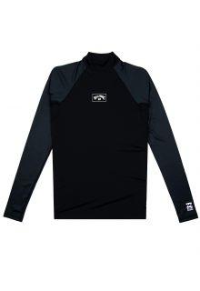 Billabong---UV-Zwemshirt-voor-heren---Longsleeve---Contrast---Zwart