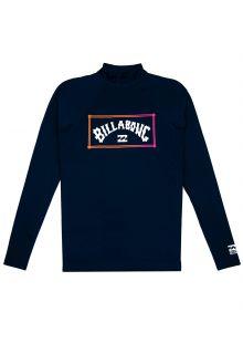 Billabong---UV-Zwemshirt-voor-heren---Longsleeve---Unity---Marineblauw