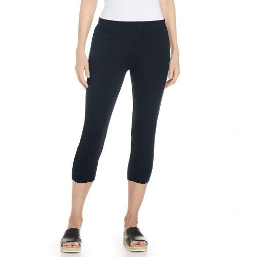 Coolibar---UV-capri-voor-dames---Donkerblauw