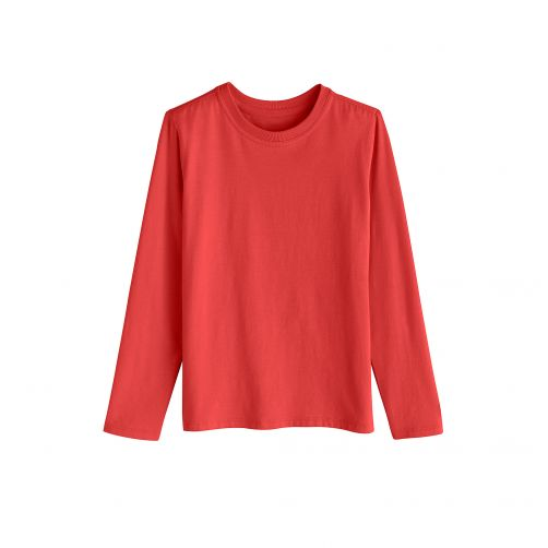 Coolibar---UV-shirt-voor-kinderen---Rood