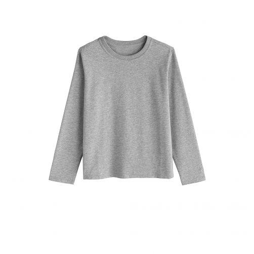 Coolibar---UV-Shirt-voor-kinderen---Longsleeve---Coco-Plum---Grijs
