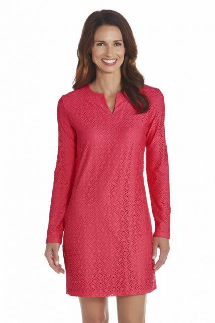 Coolibar---UV-jurk-dames---Koraal