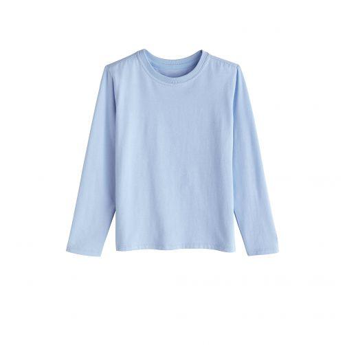 Coolibar---UV-shirt-voor-kinderen-lange-mouwen---Vintage-blauw