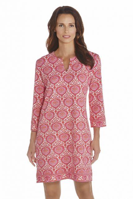 Coolibar---UV-jurk-dames---Roze